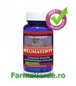 Reumatofit Calmeaza Durerile 60 capsule Herbagetica