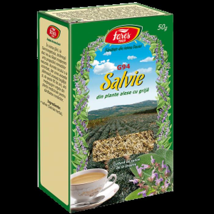 Ceai Salvie 50 g Fares