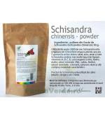Schisandra pulbere din fructe Schisandra chinensis 50 gr ProNatura