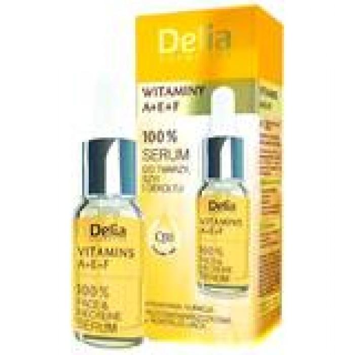 Ser fata decolteu vitamine A E F 10 ml Delia Cosmetics