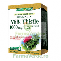 Silimarina Milk Thistle 1000 mg 60 capsule Nature's Bounty Walmark