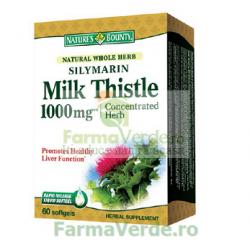 Silymarin Milk Thistle 1000mg 60 capsule Nature's Bounty Walmark