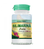 Silimarina Forte 2500 mg 30 tablete Cosmopharm