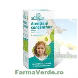 Alinan Sirop Atentie si concentrare 150 ml Fiterman Pharma