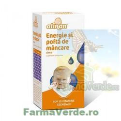 Alinan Energie si pofta de mancare cu 10 multivitamine copii kids 150 ml Fiterman Pharma