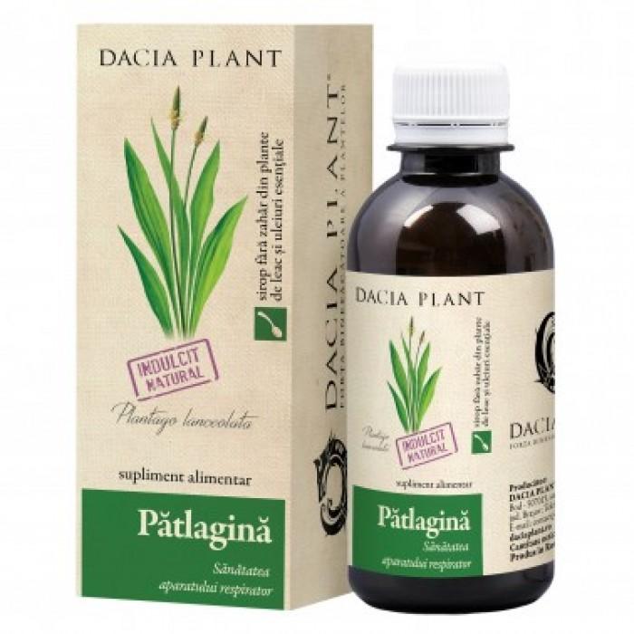 Sirop Patlagina 200 ml DaciaPlant