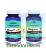 Sleep Duo AM/PM Zen Forte PACHET PROMOTIE! 60 Capsule +60 capsule Herbagetica