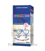 Somnic Advanced Kids Copii Sirop 125 ml Cosmopharm