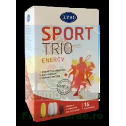 Sport Trio L- Carinitin+Vitamine+Minerale+Omega 3 Lysi