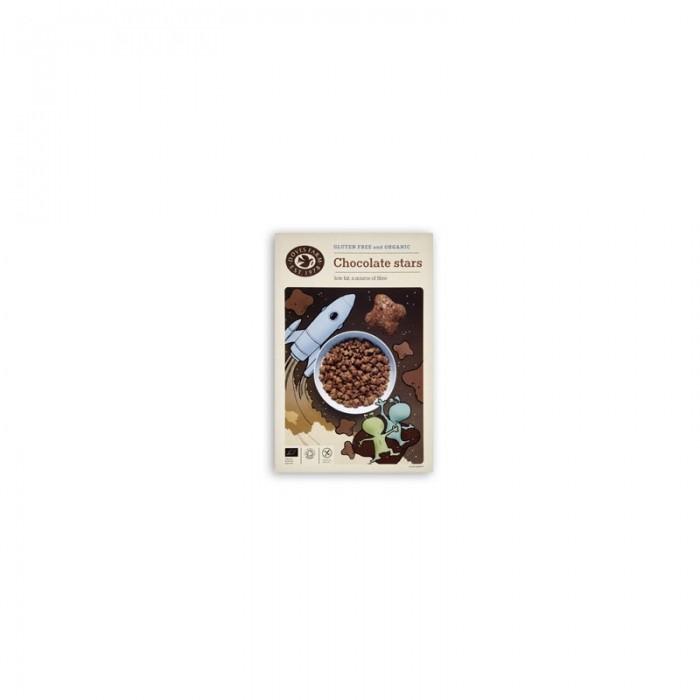 Cereale Stelute de Ciocolata Organice fara Gluten 375gr DovesFarm