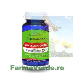Silymarin 80/50 Detox Forte 60 capsule Herbagetica