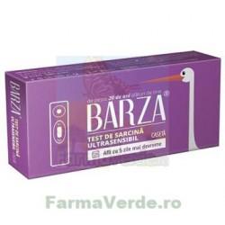 Test de sarcina ULTRASENSIBIL, cu 5 ZILE MAI DEVREME, tip Caseta 1 bucata Barza