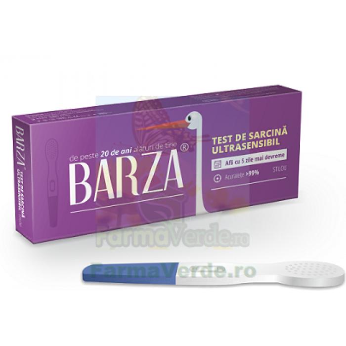 Test de sarcina Ultrasensibil STILOU 1 bucata Barza
