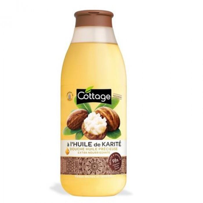 Ulei de dus Gel de dus 98% Karite 560 ml Cottage France