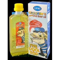 Ulei din Ficat de Cod Pentru Copii 240 ml Lysi Saga Sanatate
