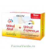 PROMOTIE! Urinal Akut Idelyn, 10 tablete + Urinal Express pH, 6 plicuri, Walmark