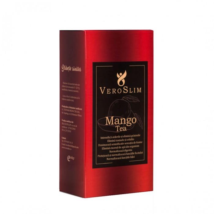 VeroSlim ceai 100% natural pentru slabit cu plante si mango 60gr
