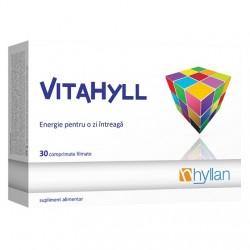 VITAHYLL Vitamine si minerale 30 capsule Hyllan Pharma