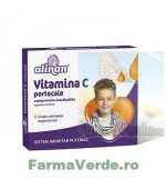 Alinan Vitamina C Kids Portocale 20 comprimate Fiterman Pharma