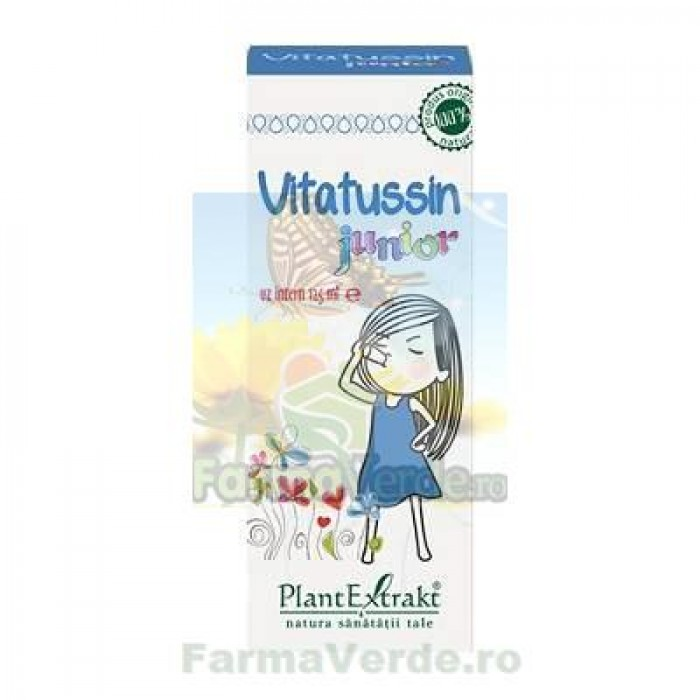 Vitatussin Junior Sirop 125 ml PlantExtrakt