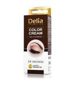 Vopsea Crema coloranta gene sprancene 3.0 maro inchis 15ml Delia Cosmetics
