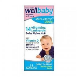 Sirop WellBaby Multi-Vitamin 150 ml Vitabiotics