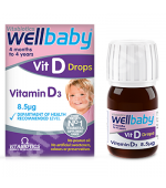 Wellbaby Vitamina D picaturi 30 ml Vitabiotics
