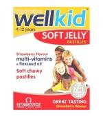WellKid Soft jelly 30 de jeleuri Vitabiotics