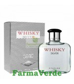 Apa de toaleta Whisky Silver 50ml Evaflor Paris