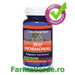 Zheo Hormonal Reglator hormonal 60 capsule Herbagetica