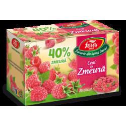 Ceai cu zmeura 40% 20 plicuri Fares
