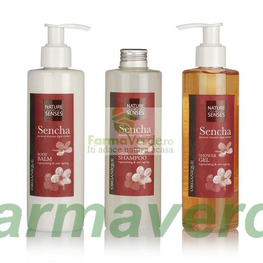 Sampon Sencha cu Alge Marine Wacame 250 ml ORGANIQUE