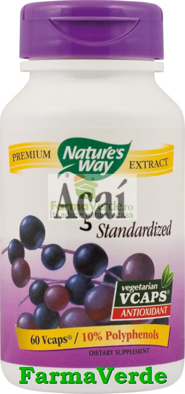 Acai SE Antioxidant 60 Capsule Natures's Way Secom