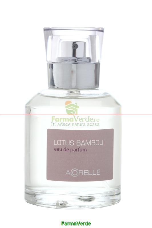 Apa de parfum BIO 50 ml Bambou Lotus Acorelle BIO Life Care