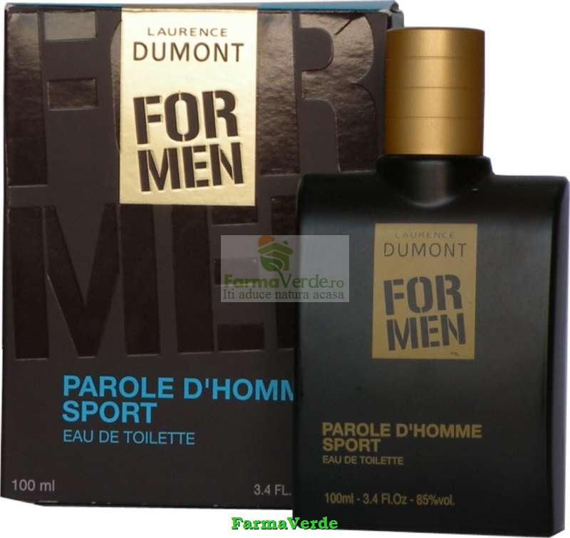 Apa de toaleta FOR MEN Parole D homme sport BIO Life Care