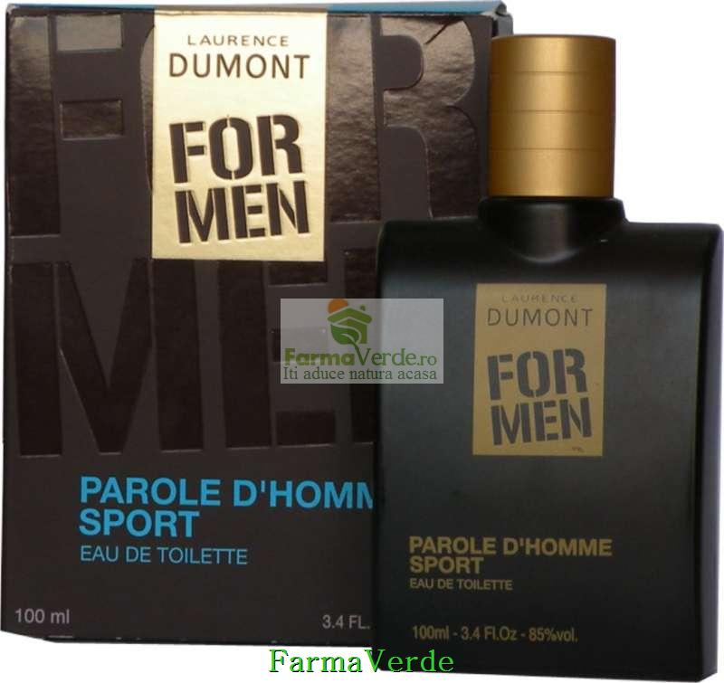 Apa de toaleta FOR MEN Parole D homme sport Life Care