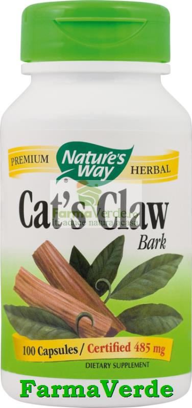 Cat's Claw-Antiinflamator 100 Cps Nature's Way Secom
