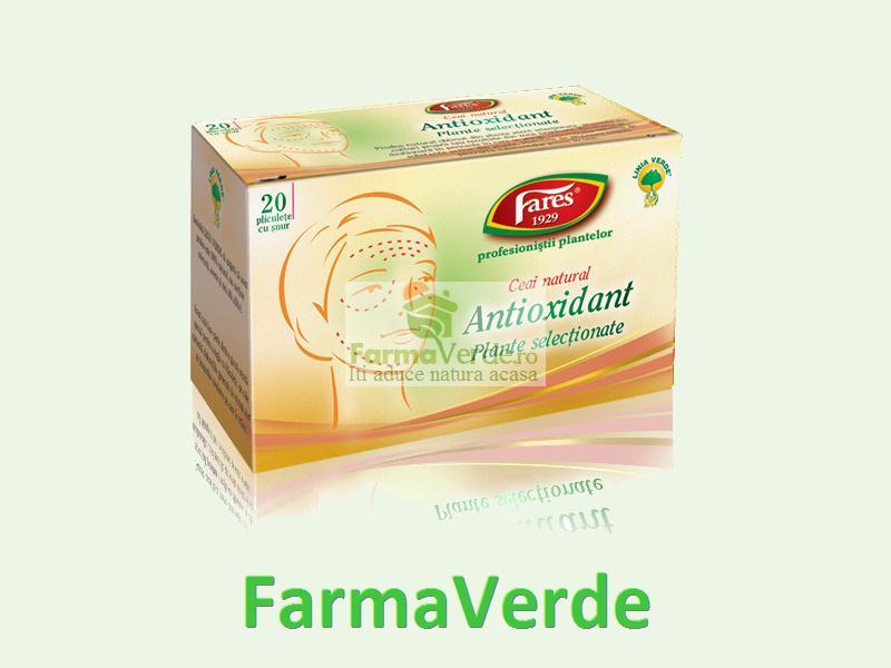 Ceai Antioxidant 20 dz Fares