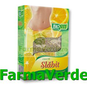 Naturavit Ceai de Slabit Biovit Vrac 50 gr