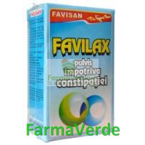 Ceai Favilax 50 g Favisan