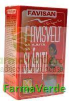 Favisvelt Ceai de Slabit 20 doze Favisan