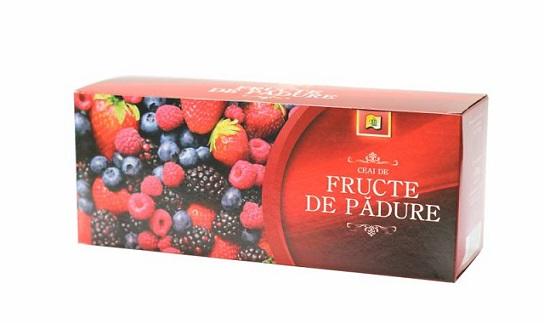 Ceai Fructe de Padure Aromat 100 doze Stefmar