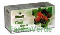 Ceai Fructe De Padure Biovit 20 doze Naturavit
