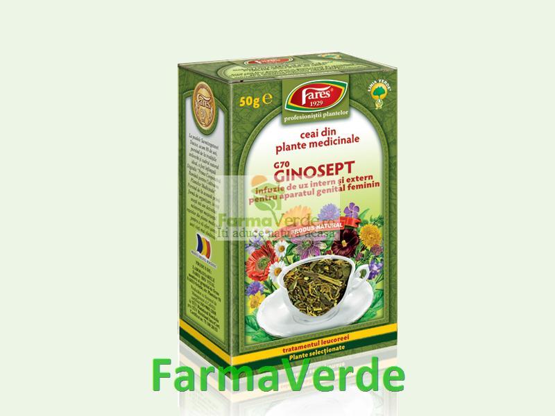 Ceai Ginosept 50 g Fares