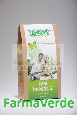 Ceai Hepatic 2 80 gr Plafar