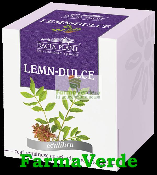 Ceai Lemn Dulce 50 g DaciaPlant