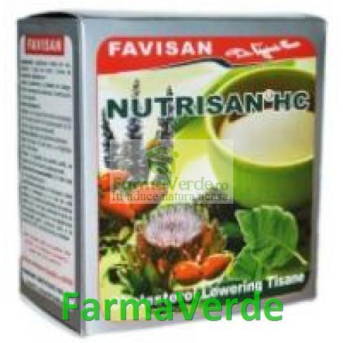 Ceai Nutrisan HC Impotriva Colesterolului 50 g Favisan