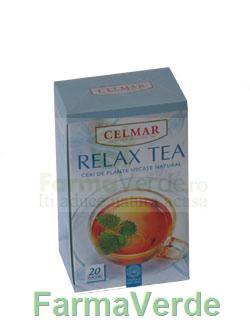 Ceai Relax Tea 20 Dz Celmar