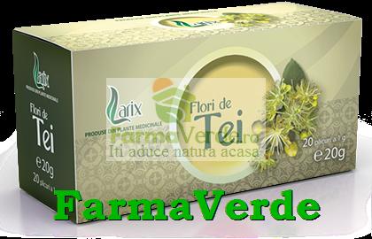 Ceai Flori de Tei 20 doze Larix