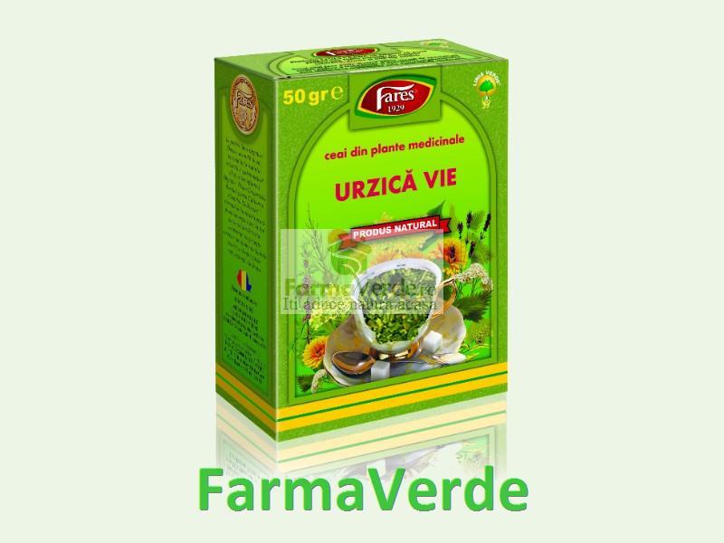Ceai Urzica Vie 50 gr Fares